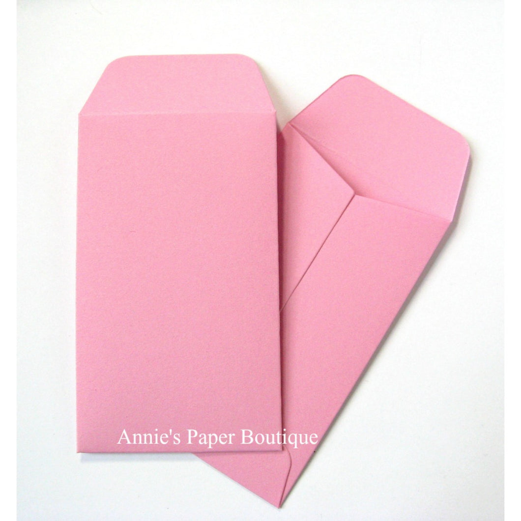 Pink Mini Seed Packet Envelopes