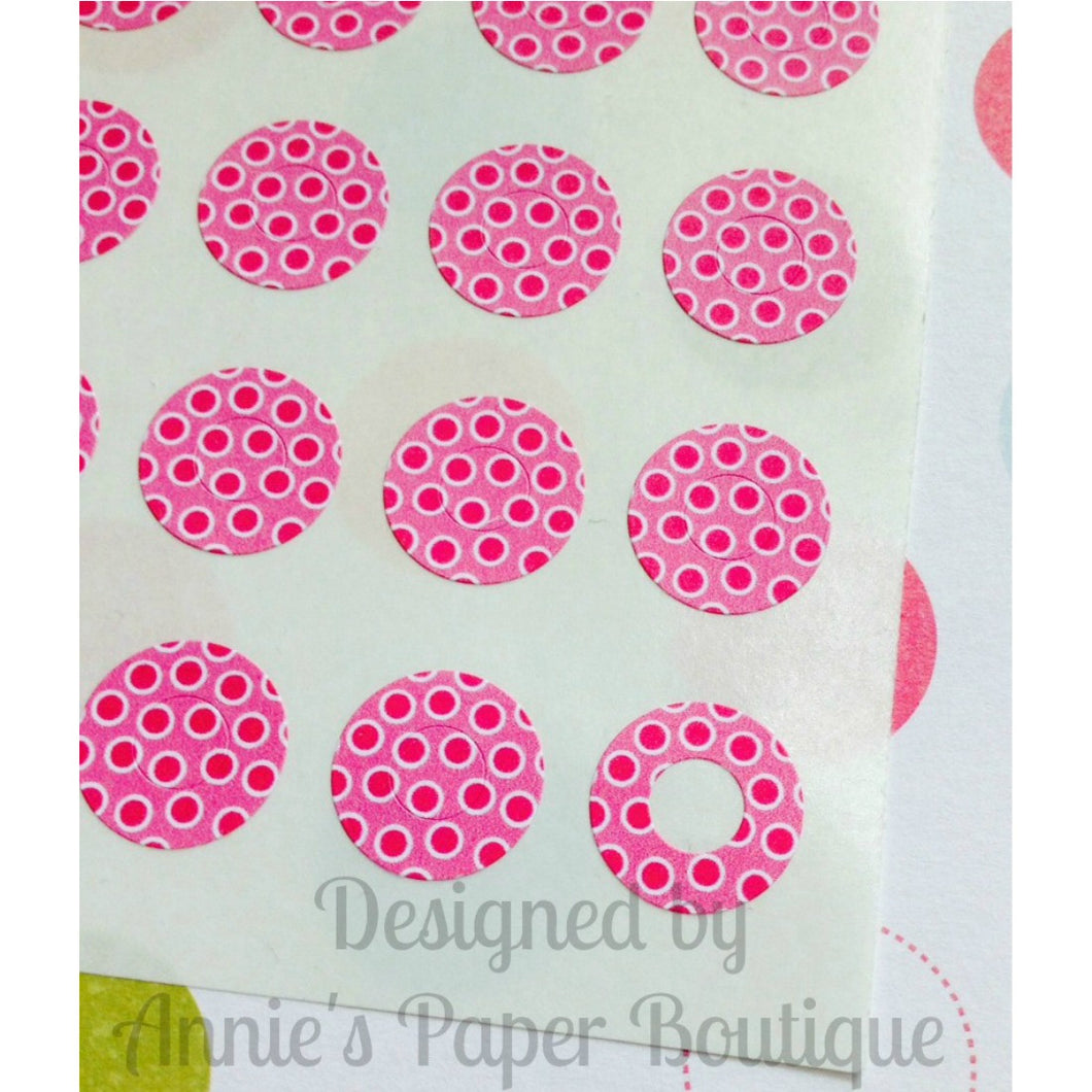 Pinkberry Trendy Page Dots™ - Circle Reinforcements