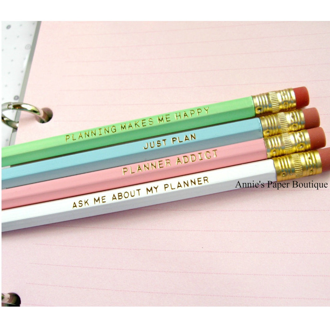 Planner Pencils by Annie's Paper Boutique