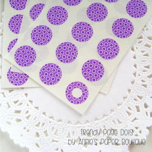 Purpleberry Dottie Trendy Page Dots™