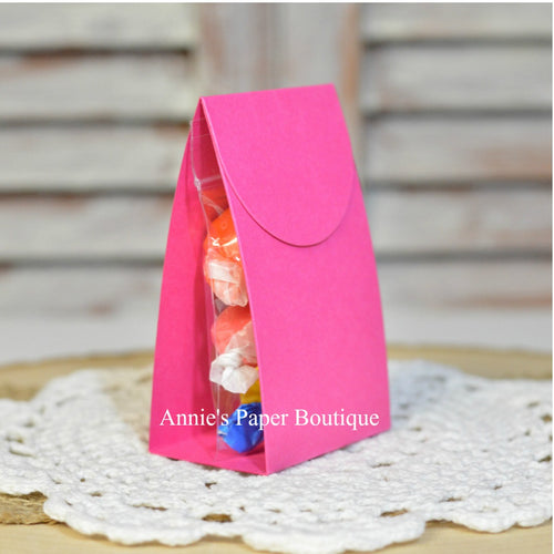 Raspberry Pink Treat Packets