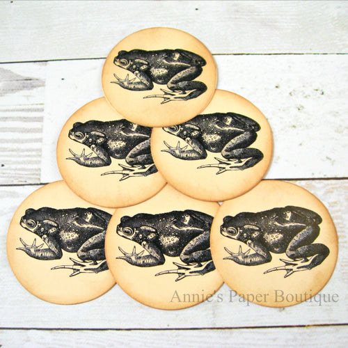 Round Toad Vintage Inspired Tags