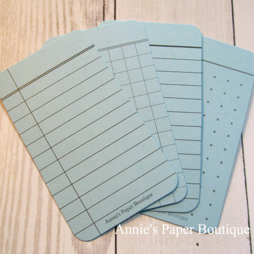 Sky Journaling Cards - Composition, Grid, Lined, Dot Grid