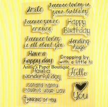 Smile Stamp Set - 4x6