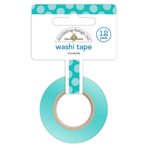 Snowballs Washi Tape