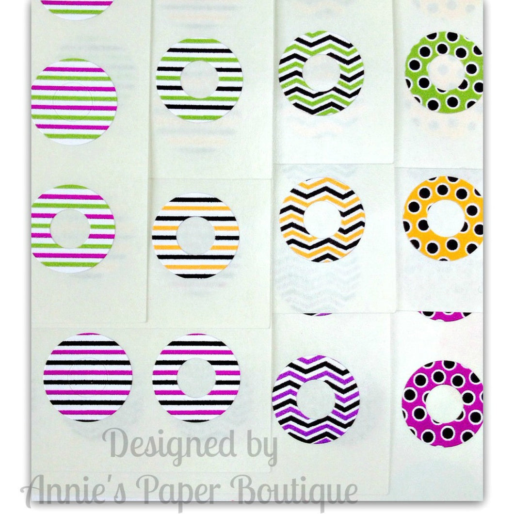Happy Halloween Trendy Page Dots™ - Reinforcement Stickers
