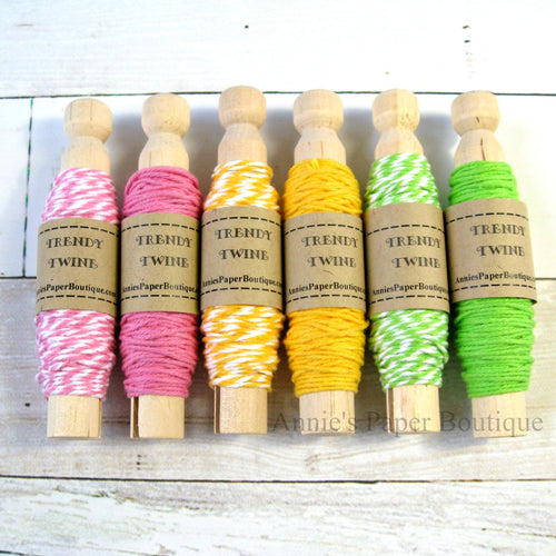 Spring Fling Trendy Bakers Twine Sampler