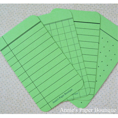 Spring Green Journaling Cards