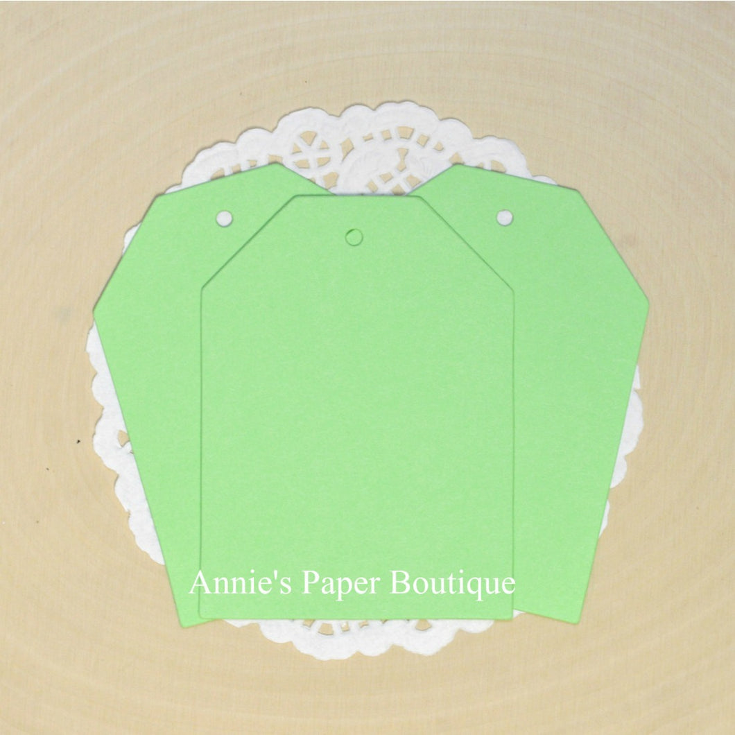 Spring Green Cardstock Hang Tags