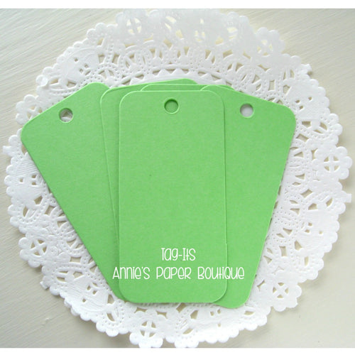 Spring Green Tag-Its, Cardstock Hang Tags