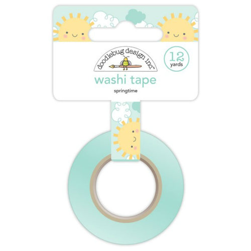 Springtime Washi Tape - Sunshine and Clouds