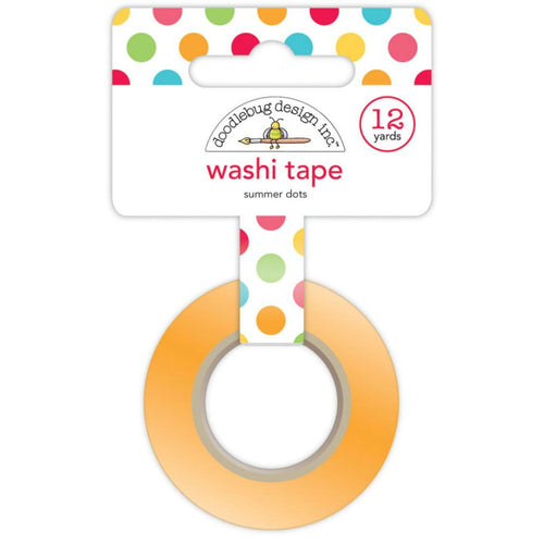 Summer Dots Washi Tape