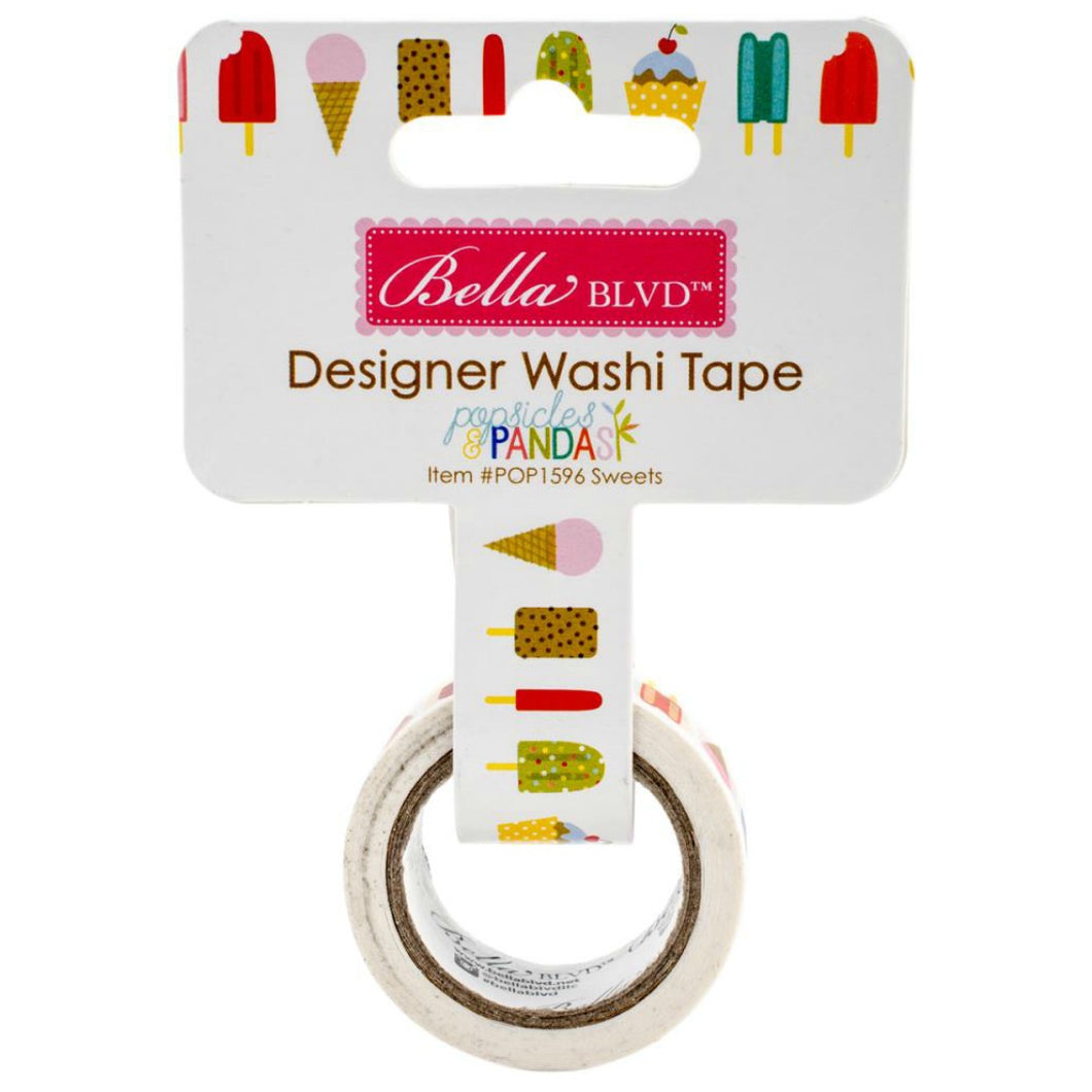 Sweet Popsicles Washi Tape by Bella Blvd