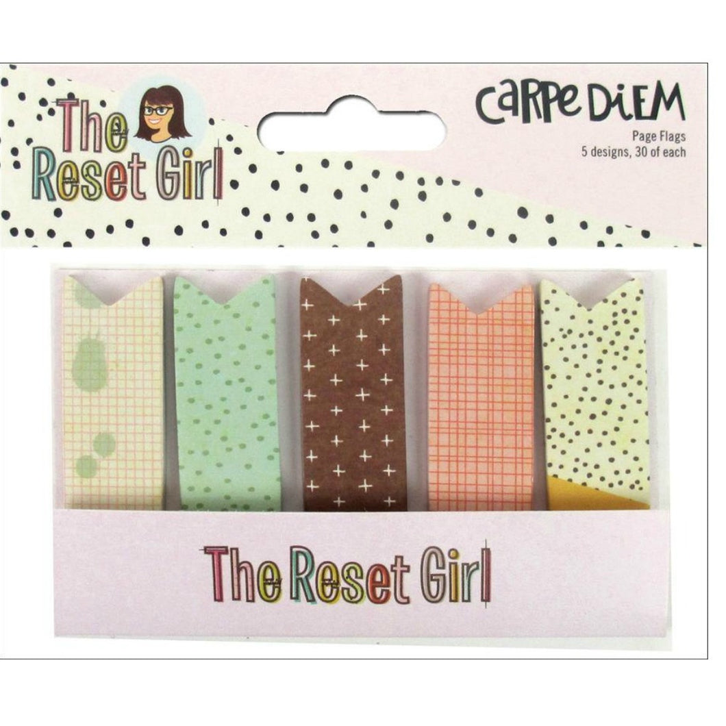 The Reset Girl Carpe Diem Page Flags