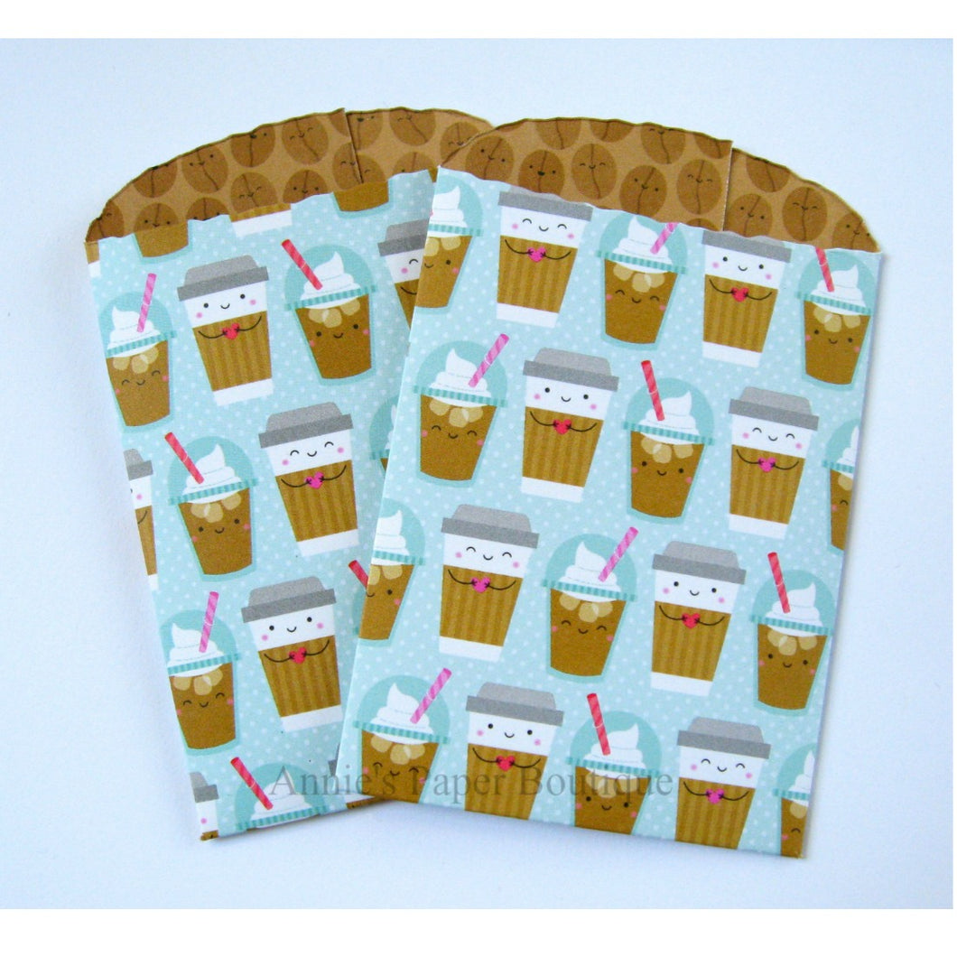 To Go Coffee Paper Pockets - 2-1/2