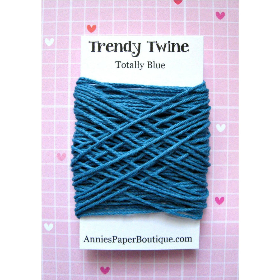 Totally Blue Trendy Bakers Twine Mini