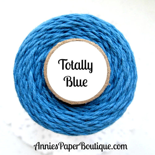 Totally Blue Trendy Bakers Twine