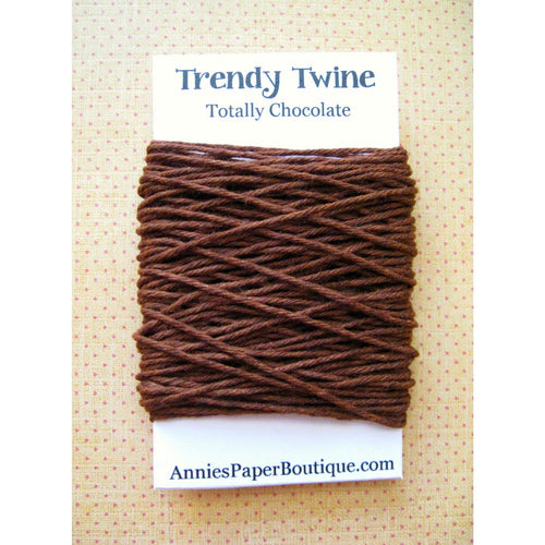 Solid Brown Trendy Bakers Twine