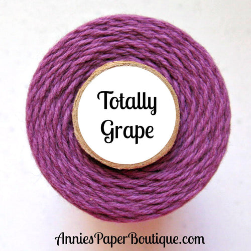 Totally Grape Trendy Bakers Twine - Solid Purple