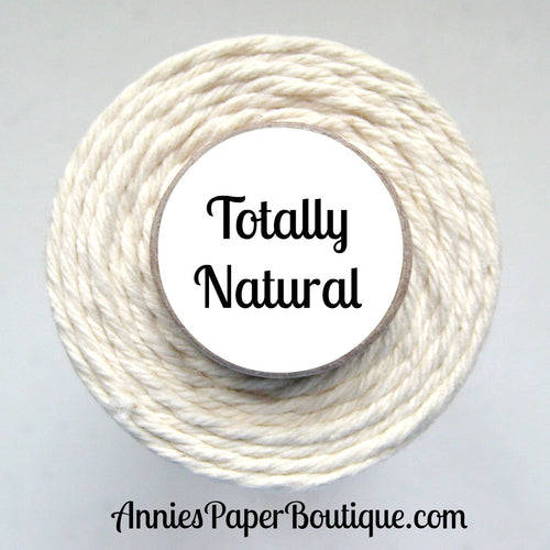 Totally Natural Trendy Bakers Twine - Solid Natural/Unbleached