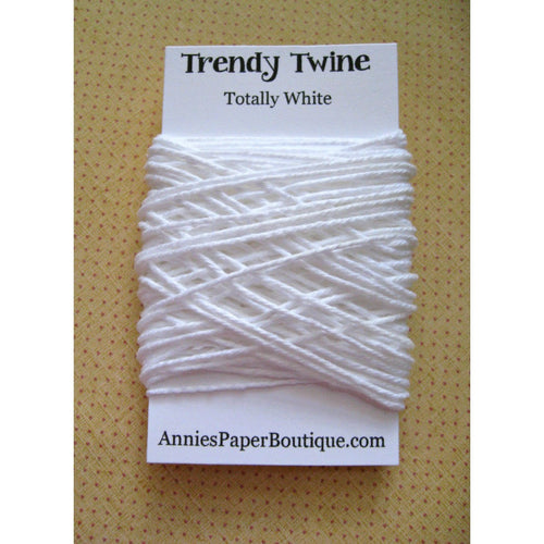 Totally White Trendy Bakers Twine Mini - Solid White