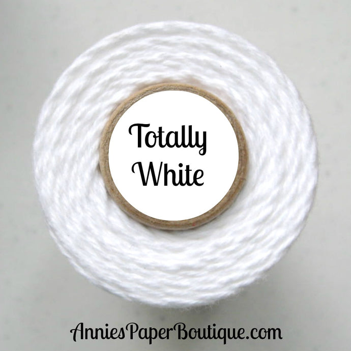 Totally White Trendy Bakers Twine