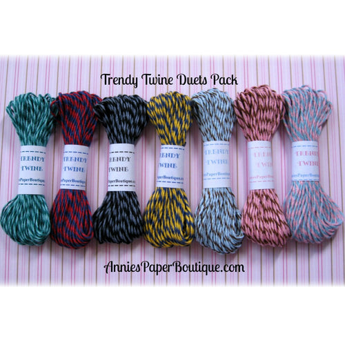 Trendy Bakers Twine Duets Sampler