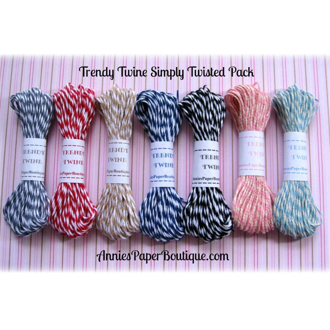 Trendy Twine's Simply Twisted Sampler