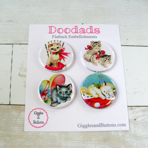 Vintage Kitties Doodads
