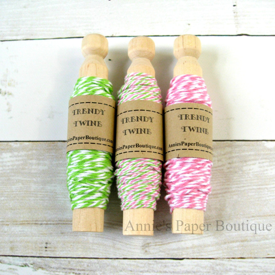 Watermelon Taffy Trendy Bakers Twine Sampler