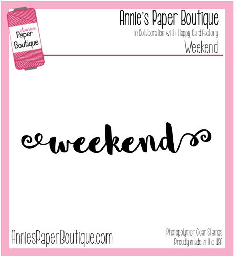 Weekend Script Planner Stamps