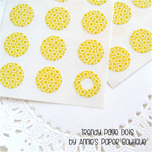 Yellowberry Dottie Trendy Page Dots™