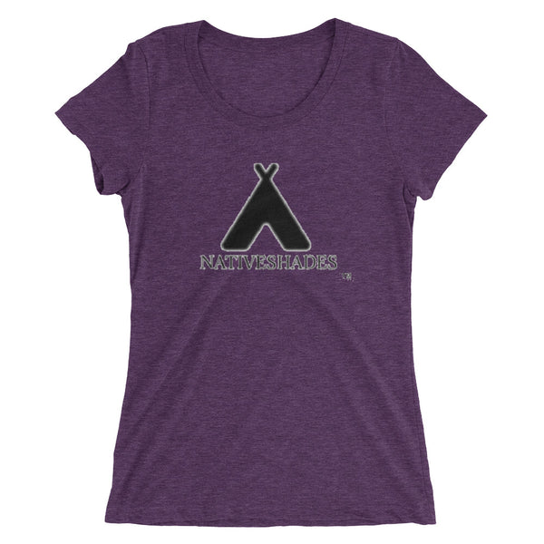 Native Shades Big Tepee Ladies' short sleeve t-shirt
