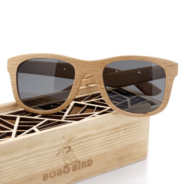 Bobo Bird  Hand Made Luxury Vintage Wood Sunglasses