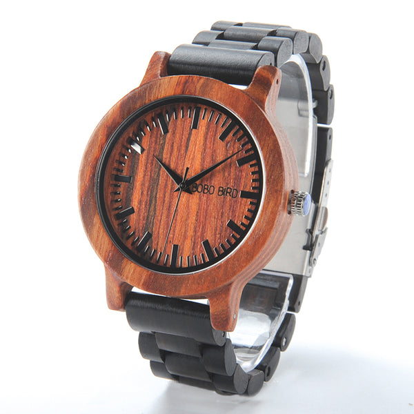 BOBO BIRD M05  Rose Sandal Wooden Watch
