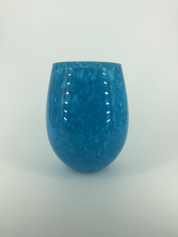 Curved Glass - Bright Blue