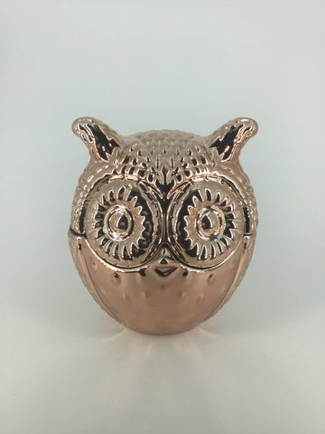 Owl - Large Copper