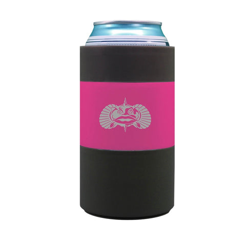 Pink Non-Tipping Can Cooler | Toadfish