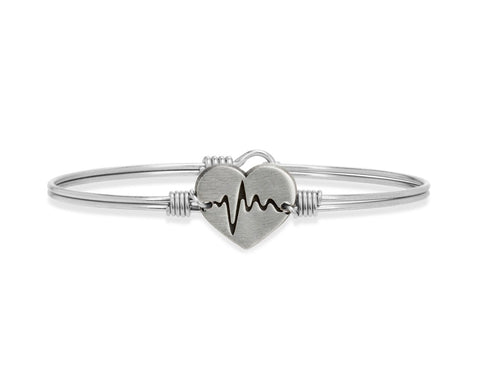 First Responder Bangle Bracelet | Regular Silver