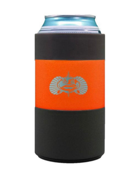 Orange Non-Tipping Can Cooler | Toadfish