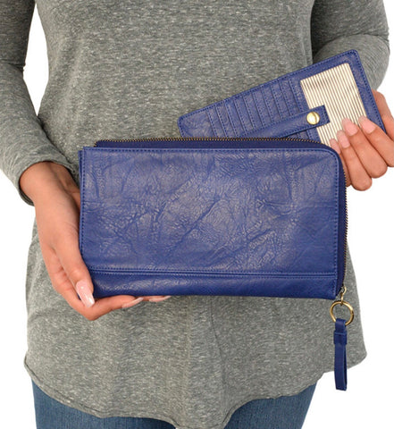 Royal Karina Convertible Wristlet and Wallet