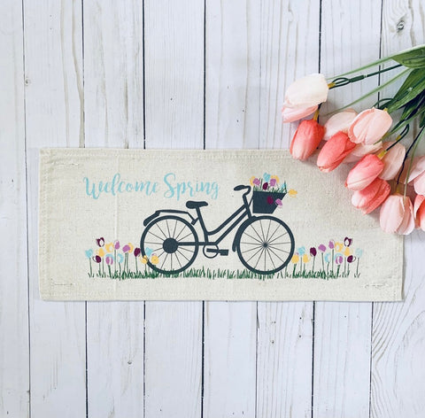 Seasonal Panel : Spring Bike