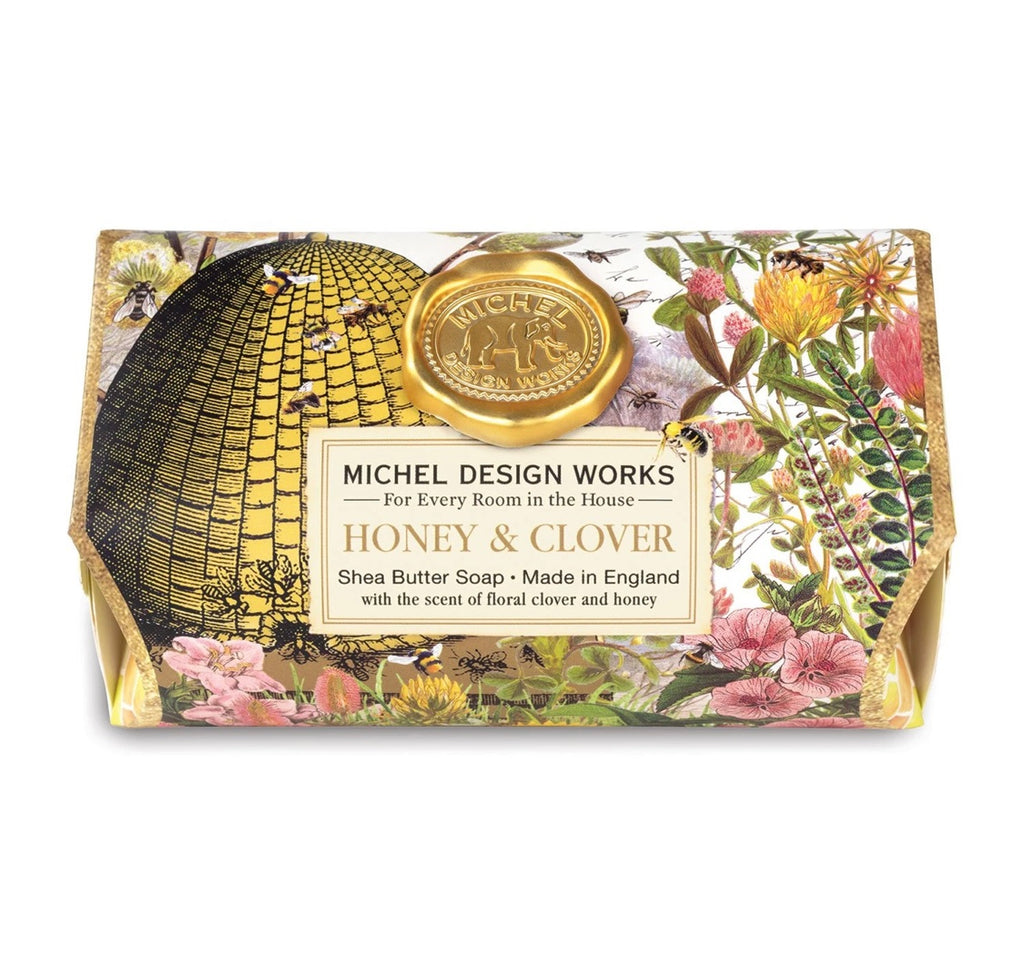 Honey & Clover | Large Bath Soap Bar