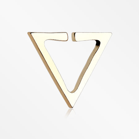 Golden Triangle Retro Punk Non-Piercing Ear Clip