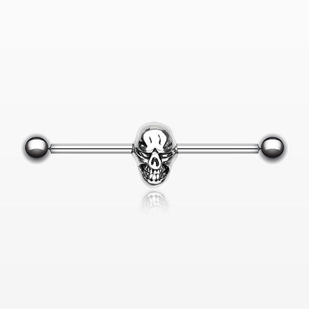 Skull Fury Industrial Barbell-Steel