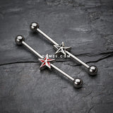 Nautical Star Industrial Barbell-Black