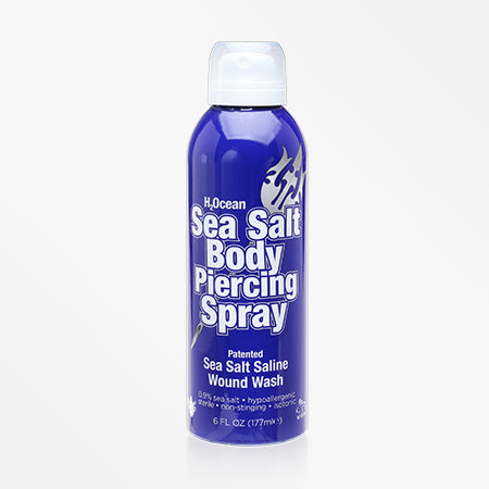 H2Ocean Sea Salt Body Piercing Spray (6 Fl Oz)