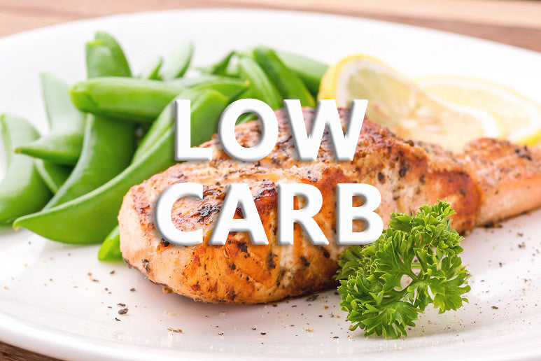 Low Carb - Meals high in protein, lower in carbohydrates, and extra veggies.