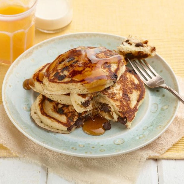 Peanut Butter Banana Pancakes - NEXT DAY