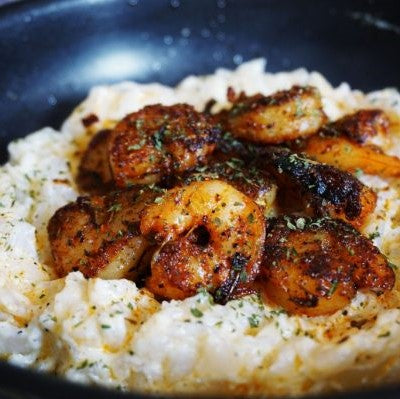 Blackened Shrimp - Low Carb